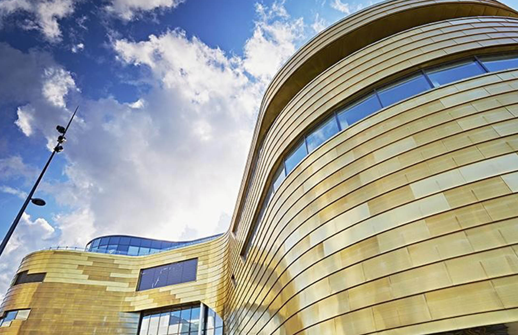 The Curve Teaching and Conference Building, Middlesbrough Campus