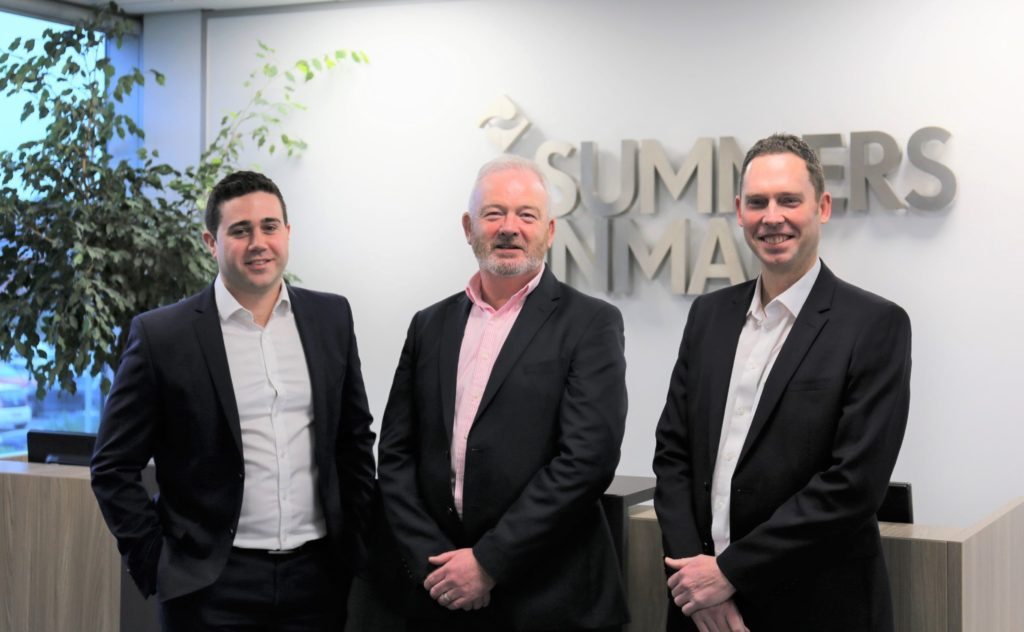 Photo of (L-R) Tom Borsoi, John Harvey and Andrew Rapmund